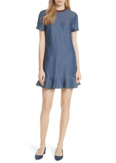 Ted Baker London Colour by Numbers Denim Dress