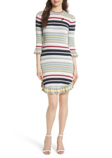 Ted Baker London Colour by Numbers Stripe Sweater Dress