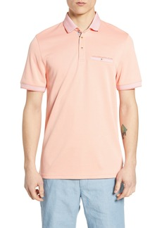 Ted Baker London Frog Slim Fit Piqué Polo