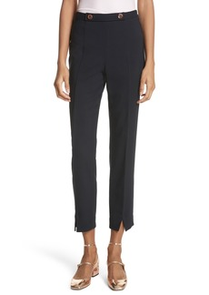 Ted Baker London Ted Working Title Front Slit Skinny Trousers