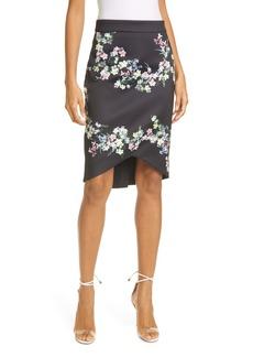 Ted Baker London Frreja Pergola Floral Pencil Skirt