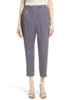 Ted Baker London Fylie Cross Front Crop Trousers