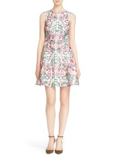Ted Baker London 'Gaea' Floral Print Fit & Flare Dress