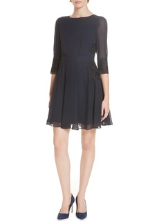 Ted Baker London Gaenor Embroidered Detail Dress