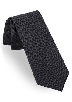 Ted Baker London Garza Solid Silk Tie