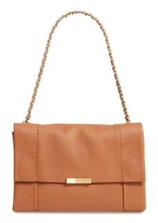 Ted Baker London Genifer Pebbled Leather Shoulder Bag