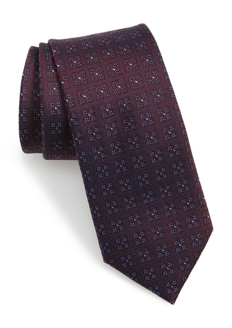 Ted Baker London Geo Pattern Silk Tie