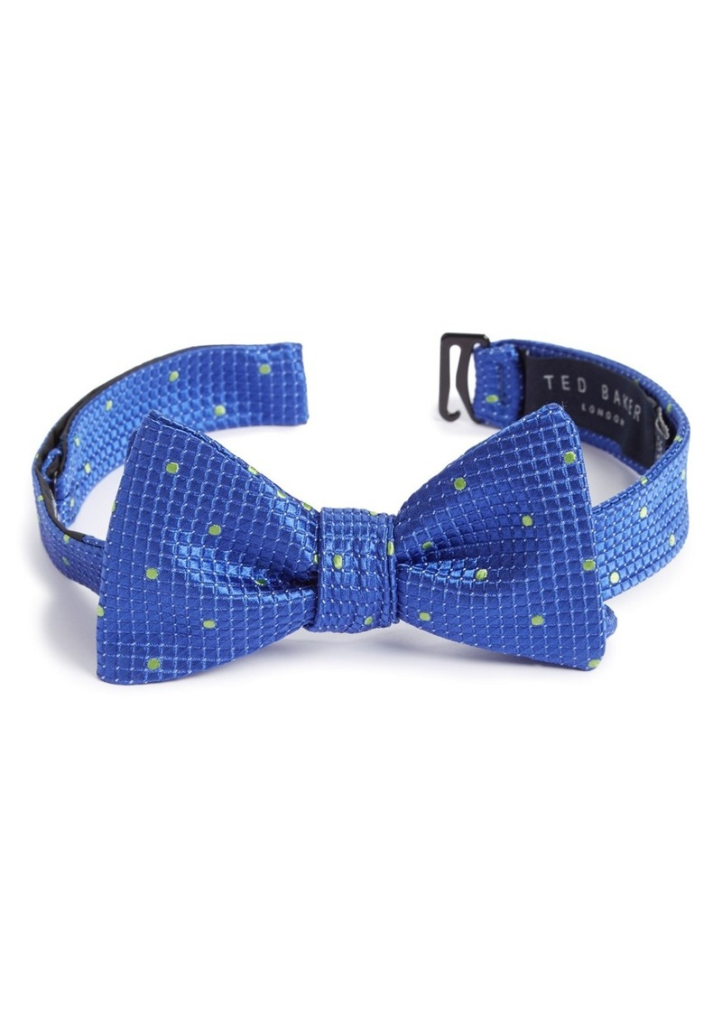 Ted Baker London Geo Print Silk Bow Tie