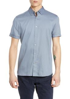Ted Baker London Geo Print Slim Fit Sport Shirt