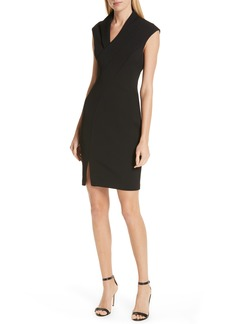 Ted Baker London Geodese Faux Wrap Pencil Dress