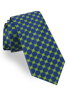 Ted Baker London Geometric Circle Silk Tie