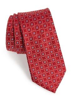 Ted Baker London Geometric Medallion Silk Tie