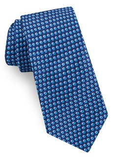 Ted Baker London Geometric Oval Silk Tie