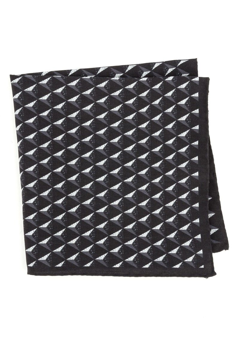 Ted Baker London Geometric Silk Pocket Square