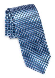 Ted Baker London Geometric Silk Skinny Tie