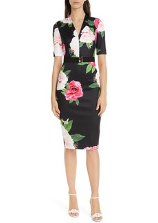 Ted Baker London Gilanno Magnificent Body-Con Dress