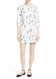 Ted Baker London Giley Print Shift Dress
