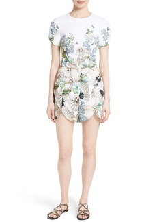 Ted Baker London Gilliay Print Romper