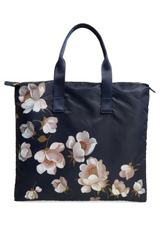 Ted Baker London Gisela Pearl Foldaway Shopper Tote & Pouch