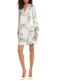 Ted Baker London Glimmah Highland Floral Long Sleeve Shift Dress
