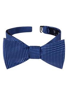 Ted Baker London Grid Silk Bow Tie