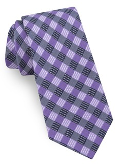 Ted Baker London Grid Silk Tie