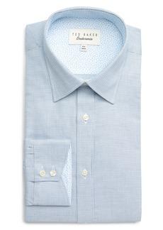 Ted Baker London Endurance Guppi Extra Slim Fit Check Dress Shirt