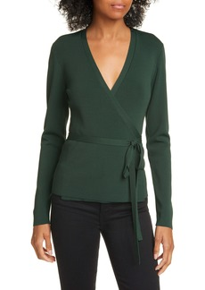 Ted Baker London Gworji Long Sleeve Wrap Sweater