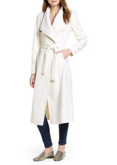 Ted Baker London Gwynith Wool Blend Wrap Coat