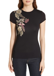 Ted Baker London Hallie Pirouette Fitted Tee