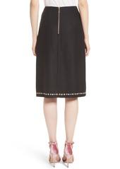 70c848b5d529c Ted Baker Ted Baker London Hampton Print A-Line Skirt   Skirts