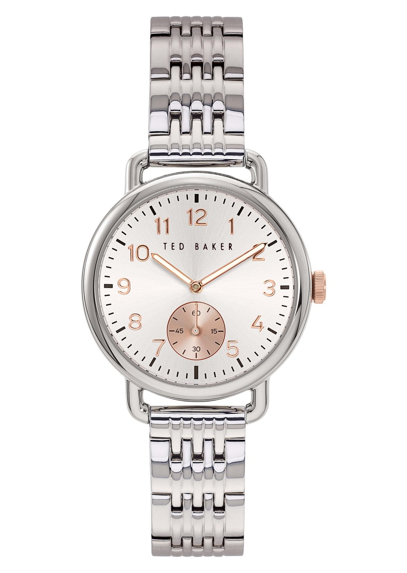 Ted Baker London Hannahh Sub-Eye Bracelet Watch, 34mm