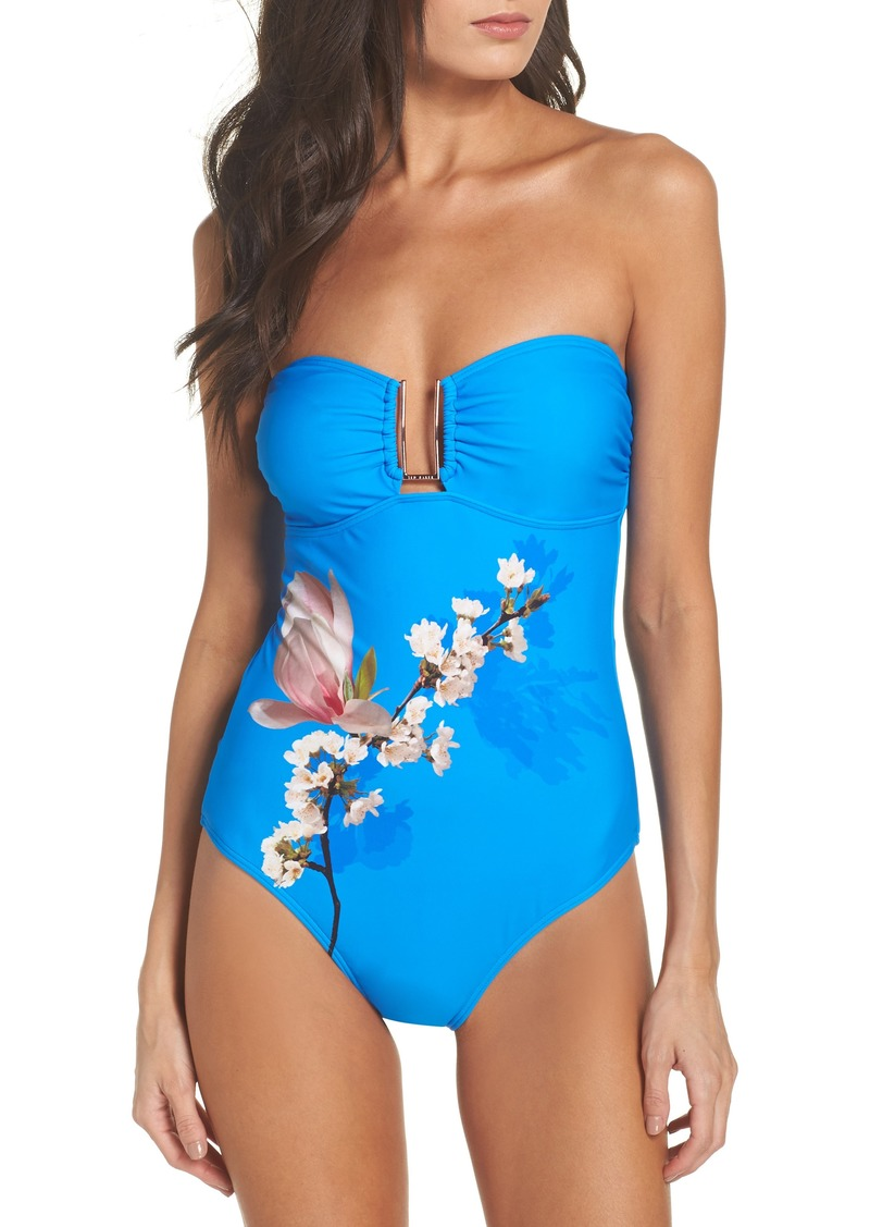 777dae0d805c Ted Baker Ted Baker London Harmony Bandeau One-Piece Swimsuit