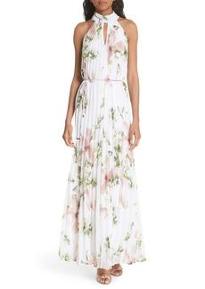 Ted Baker London Harmony Pleat Maxi Dress