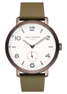 Ted Baker London Harry Leather Strap Watch, 43mm