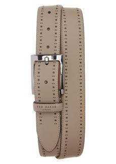 Ted Baker London Havan Brogue Leather Belt