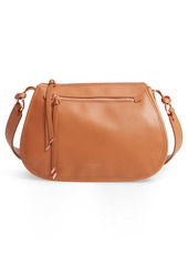 Ted Baker London Heatherr Curved Leather Crossbody Bag