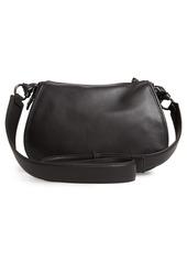 Ted Baker London Heatherr Curved Leather Crossbody Bag