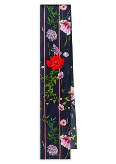 Ted Baker London Hedgerow Floral Skinny Scarf