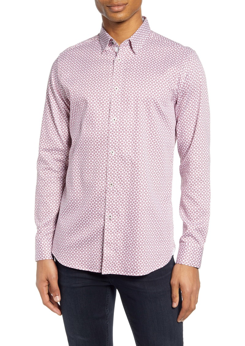 Ted Baker London Hedoes Slim Fit Button-Up Shirt
