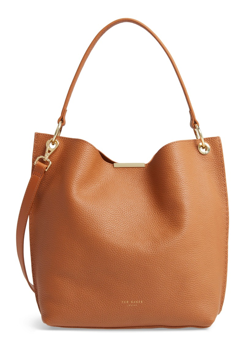 Ted Baker London Helgesoft Leather Hobo Bag