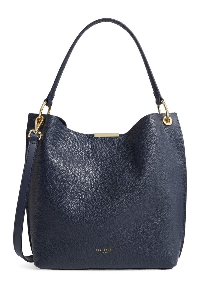 Ted Baker London Helgesoft Leather Hobo Bag