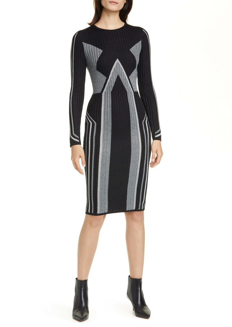 Ted Baker London Hesiaa Long Sleeve Sweater Dress