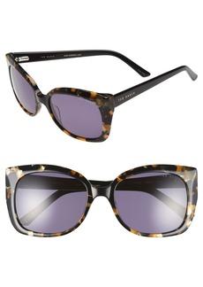 Ted Baker London 'Hi Dimension' 55mm Cat Eye Sunglasses