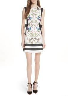 Ted Baker London High Grove A-Line Dress