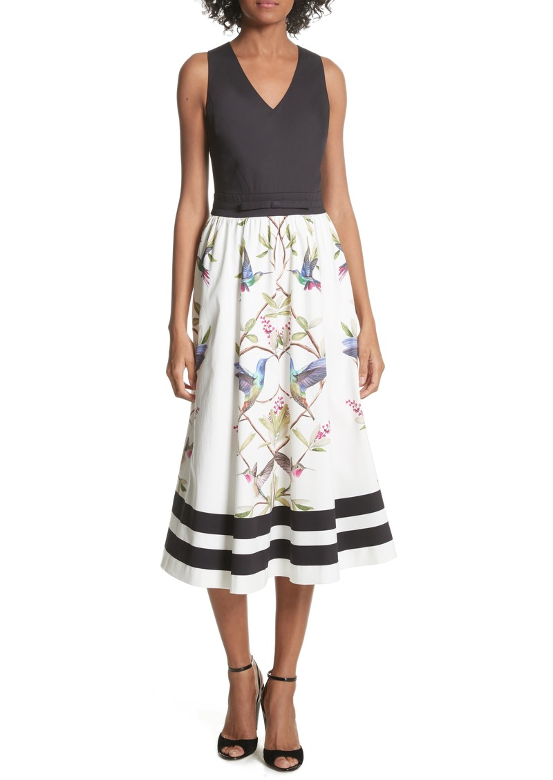 aacabeee73a Ted Baker Ted Baker London High Grove Fit   Flare Dress