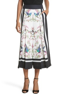 Ted Baker London High Grove Wide Leg Culottes