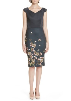 Ted Baker London Hilldi Arboretum Sheath Dress