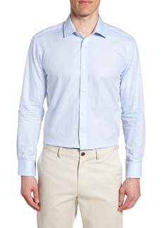 Ted Baker London Hodge Trim Fit Solid Dress Shirt