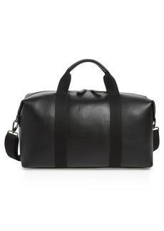 Ted Baker London Holding Leather Duffel Bag